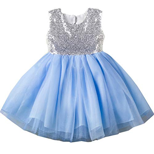 18-24 month 1 Year Old 2t Blue Toddler Dresses Trendy Spring