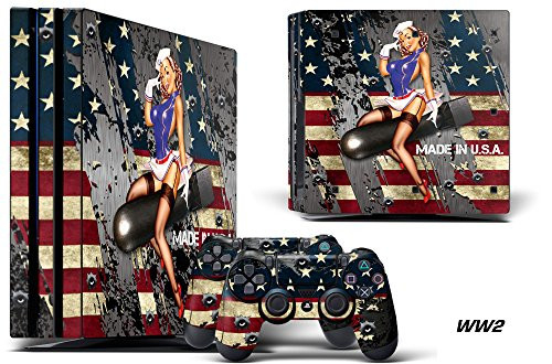 247 Skins Graphics kit Sticker Decal Compatible with PS4