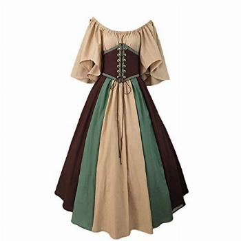 Medieval Dress for Women Gown Vintage Dress Cosplay Party