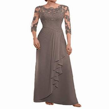 Mother of The Bride Dresses Long Evening Formal Gowns Lace