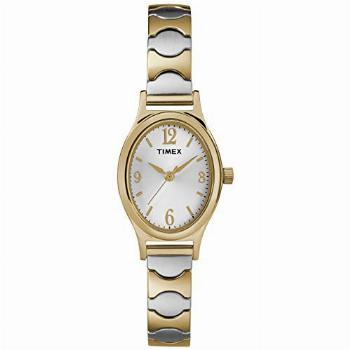 Timex Women's T26301 Kendall Circle Two-Tone Stainless Steel