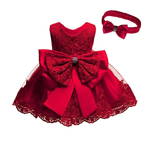 Baby Girls Red Dresses for Girls 6 Months Dresses for