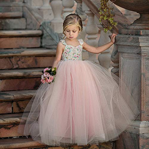 Baby Toddler Girls Wedding Formal Dress Gown 1-7 Years Old