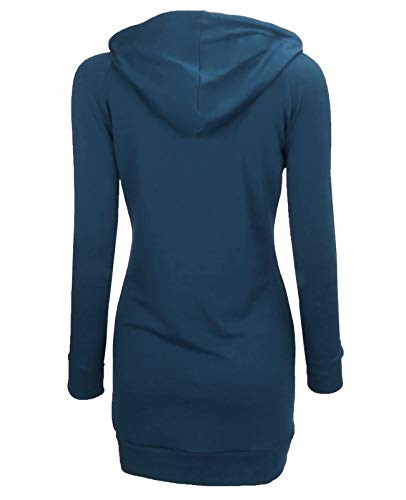 BEPEI Tunic Sweaters for Women,Retro Pretty Modesty Pocketed