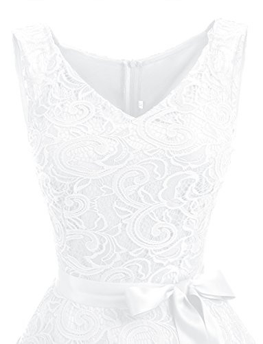 Dressystar 0010 Women Floral Lace Bridesmaid Party Dress
