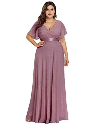 Ever-Pretty Plus Size Evening Cocktail Formal Evening Gown