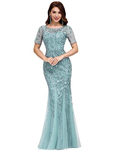 Ever-Pretty Womens Long Gowns Mermaid Dress Prom Floor