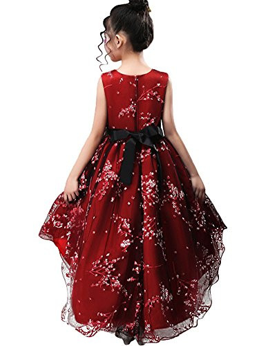 Holy First Commnuion Sundress Trumpet High Low Train Dresses