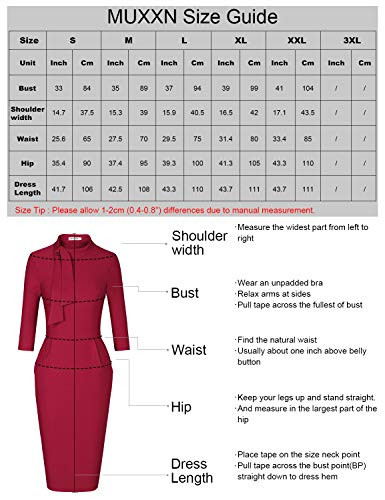 MUXXN Lady Formal Gorgeous Mock Collar Fall Special Occasion