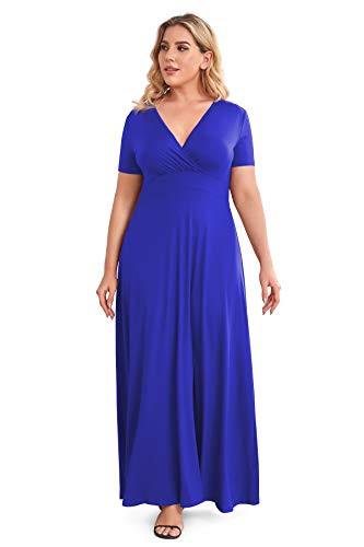 POSESHE Womens Plus Size Formal Wedding Dresses Cocktail