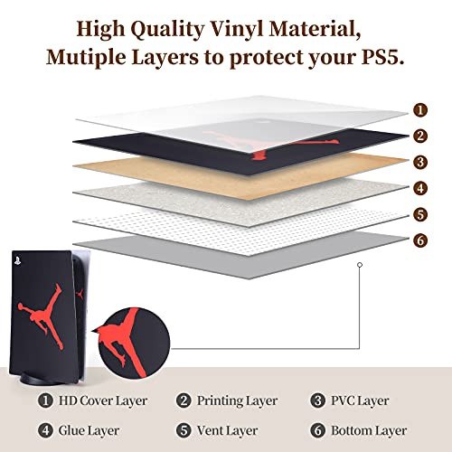 PS5 Console and Controller Skin Vinyl Sticker Decal Cover