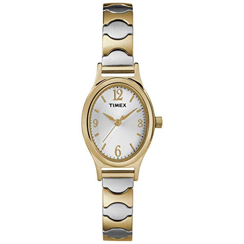 Timex Womens T26301 Kendall Circle Two-Tone Stainless Steel
