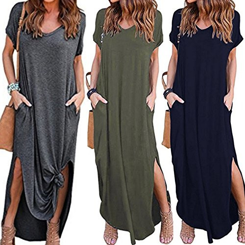 Womens Maxi Dresses with Sleeves Fall Gibobby Womens Formal